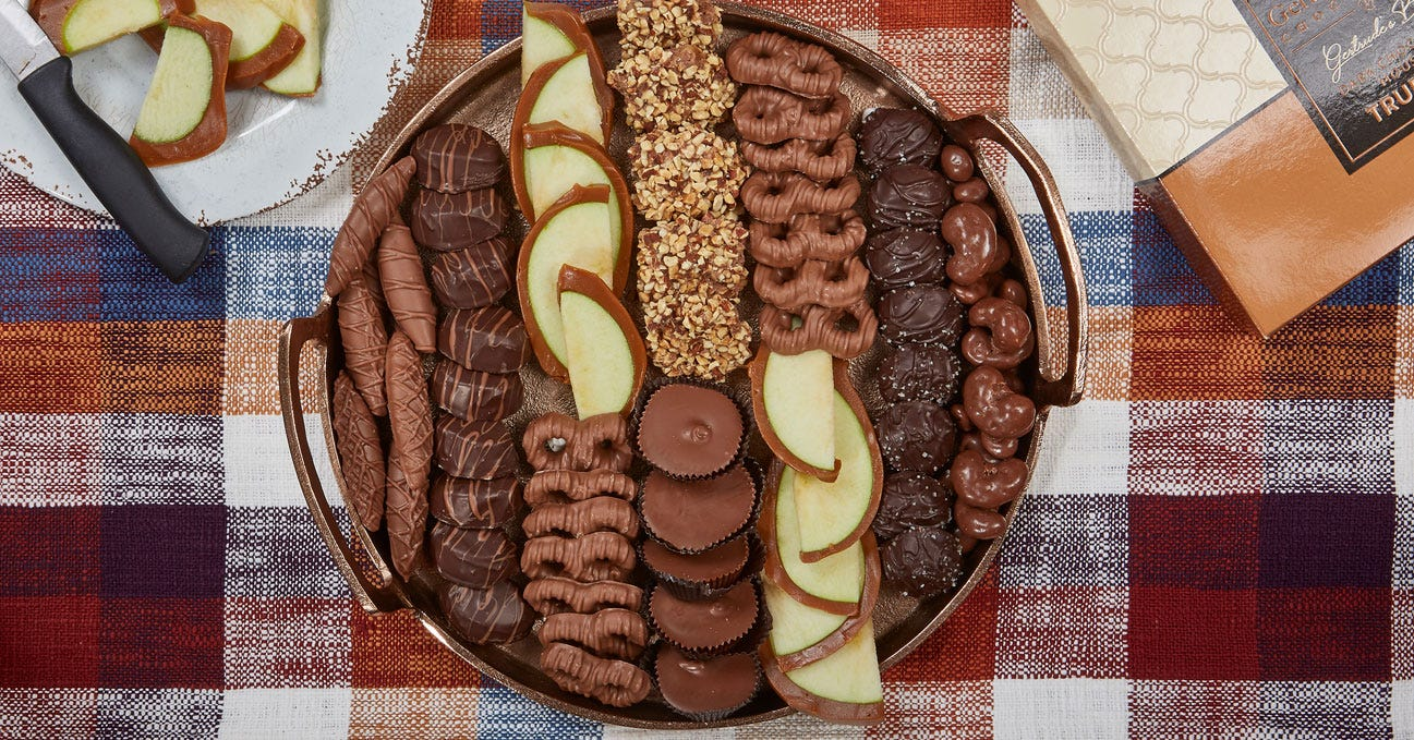 chocolate charcuterie board