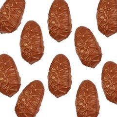 Milk Chocolate Crispy Peanut Butter Egg (10 Pack)