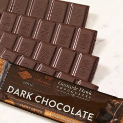 Dark Chocolate Solid Candy Bars - 5 Pack