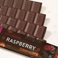 Dark Chocolate Raspberry Candy Bars - 5 Pack