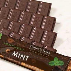 Dark Chocolate Mint Candy Bars - 5 Pack