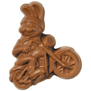 Milk Chocolate Motorcycle Bunny