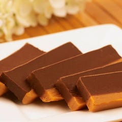 Chocolate & Peanut Butter Fudge