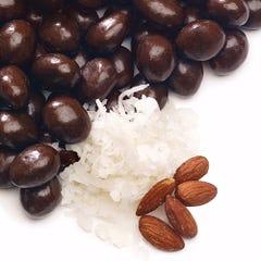 Dark Chocolate Coconut Almonds