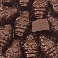 Dark Chocolate Santa Smidgens®