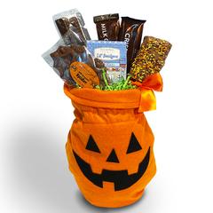 Halloween Pumpkin Felt Gift Bag