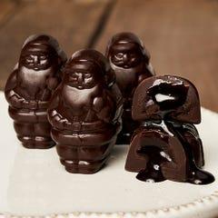 Dark Chocolate Lava Cake Santa Smidgen®