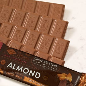 Milk Chocolate Almond Candy Bars - 5 Pack