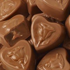 Milk Chocolate Caramel Sweetheart Smidgens®