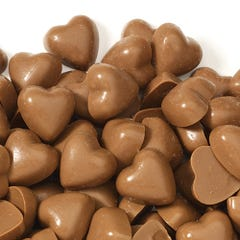 Milk Chocolate Heart Teenie Poppers®