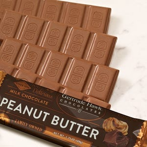 Milk Chocolate Peanut Butter Meltaway Candy Bars - 5 Pack