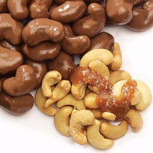 Milk Chocolate covered Sea Salt Cashews