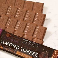 Milk Chocolate Almond Toffee Candy Bars - 5 Pack
