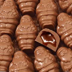 Milk Chocolate Caramel Santa Smidgens®