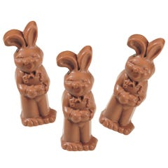 Milk Chocolate Flop Ear Bunny (3 Pack)