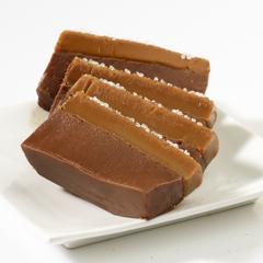 Chocolate Caramel Sea Salt Fudge