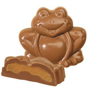 Milk Chocolate Peanut Butter Frog