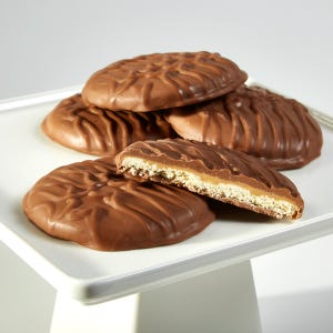 Giant Milk Chocolate Covered Peanut Butter Cookie- 3 Pack