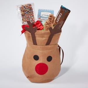 Holiday Reindeer Gift Bag