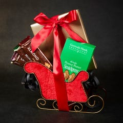 Red Sleigh Gift