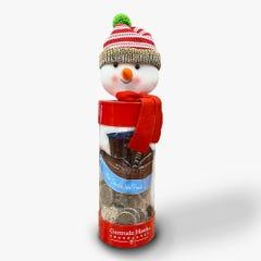 Holiday Snowman Tub Gift