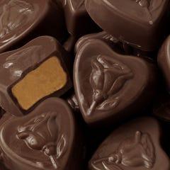 Dark Chocolate Peanut Butter Sweetheart Smidgens®