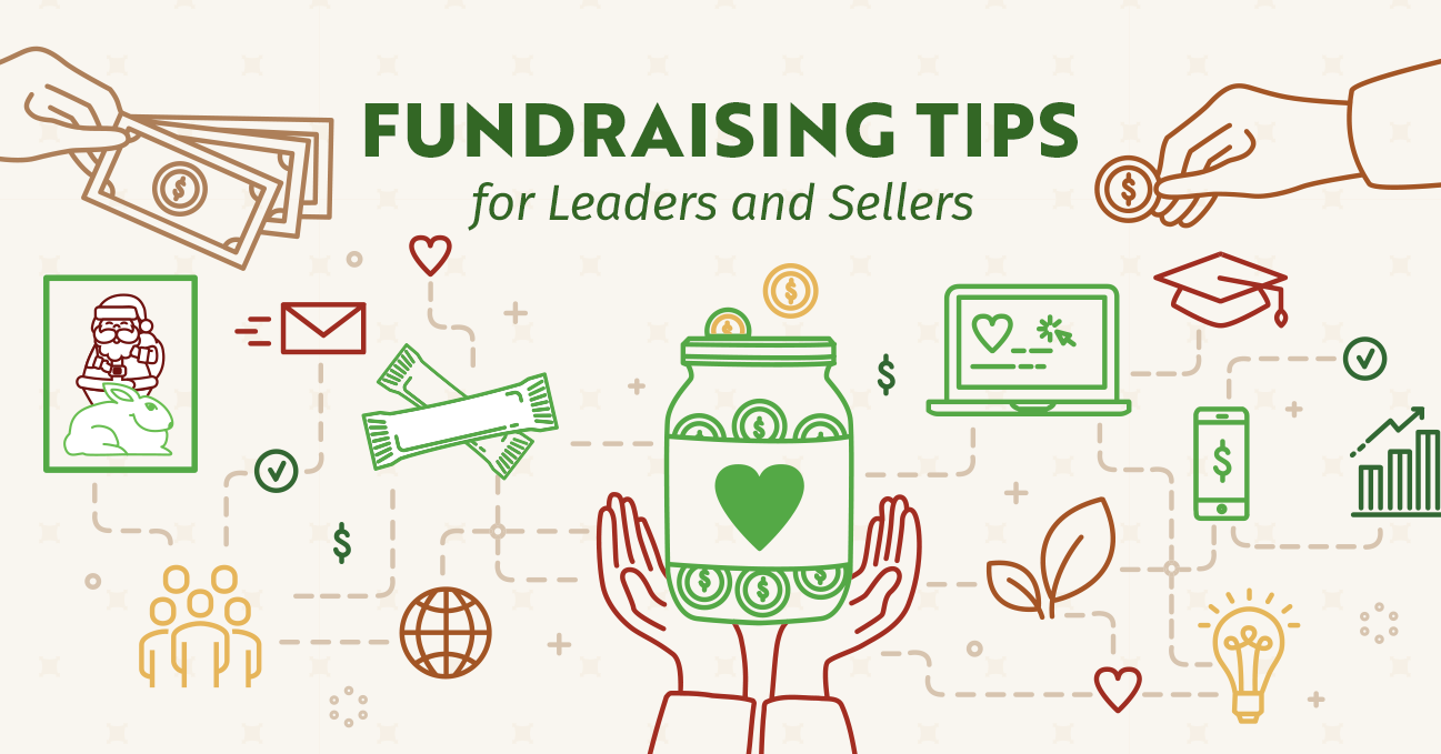 Fundraising Tips for Leaders and Sellers